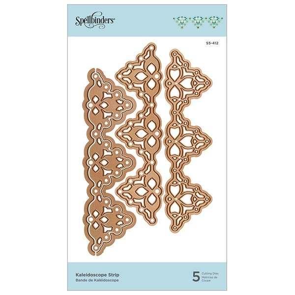 Spellbinders Shapeabilities Die Set Kaleidoscope Strip   Set of 5