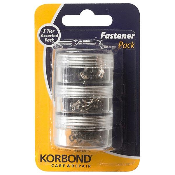 Korbond Fastener Pack Assorted | Pack of 40