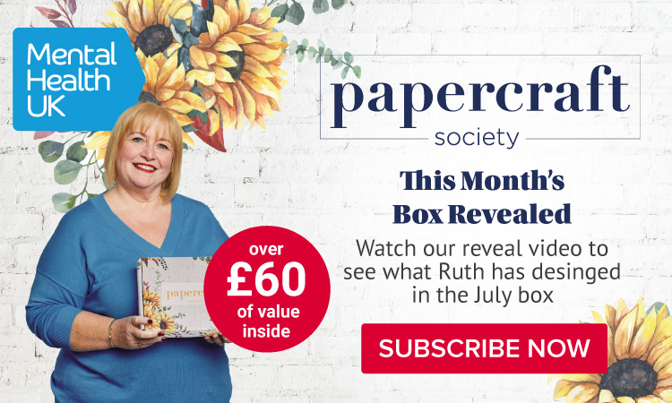 Discover the Papercraft Society July Box: Ruth Mackie-McCartan with Mental Health UK